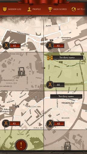 Georivals - GPS game