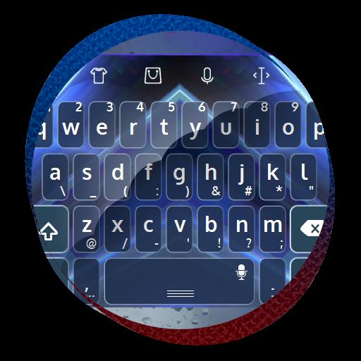 个人化のガラス柱 TouchPal テーマ LOGO-記事Game