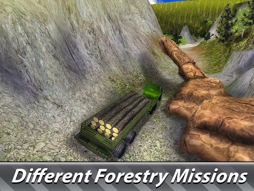 Logging Harvester Truck 1.4 screenshots 8