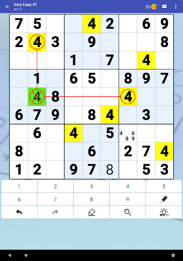 Sudoku Free - Classic Brain Puzzle Game screenshot 11