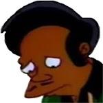 Apu se va de los Simpsons icon