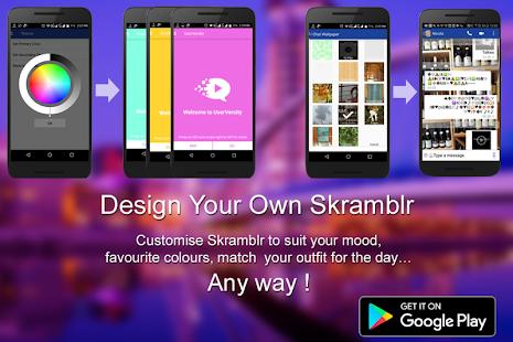Skramblr Free Video Audio Chat - náhled