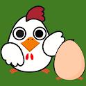 Chicken Farm - catch the eggs icon