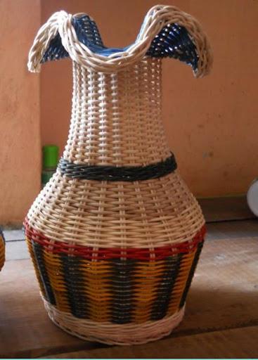 籐の手工芸品