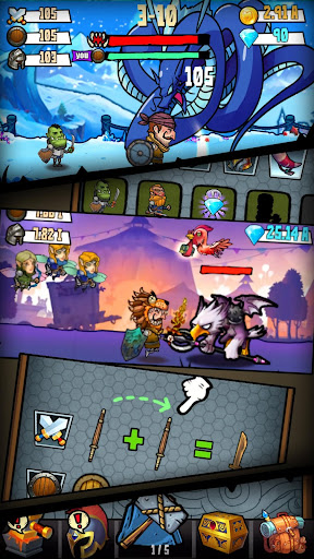 Code Triche Merge And Forge : Idle Weapon Master mod apk screenshots 5