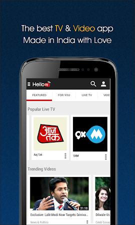 HelloTV - Free Live Mobile TV 2.2 screenshot 221761
