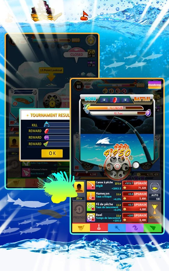 Tap fishing master idle clicker android apps on google for Tap tap fish all hidden fish