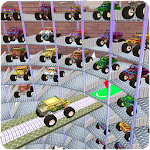 Multi-Level Monster Truck Parking Driving School Icon