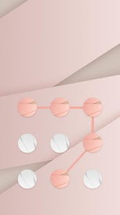 Abstract APP Lock Theme Pink Pin Lock Screen - náhled