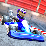 Racing car: Karting game Icon
