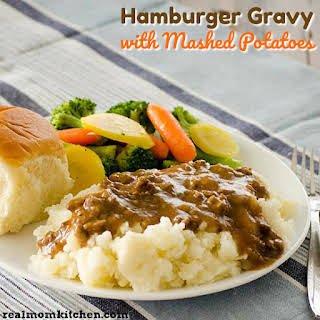 Hamburger Gravy Without Milk Recipes.