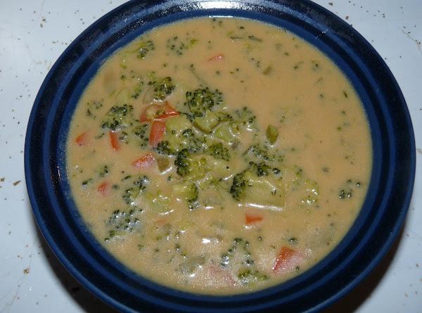 Fresh Broccoli Cream Soup Recipe