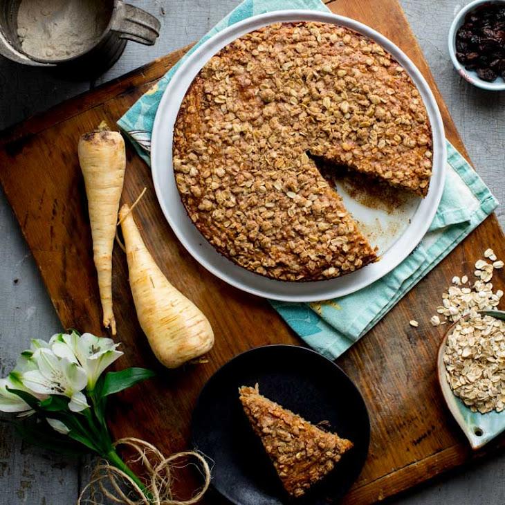 Maple Parsnip Morning Glory Coffee Cake Recipe