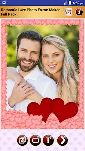 Romantic Photo Frames Maker FL - náhled