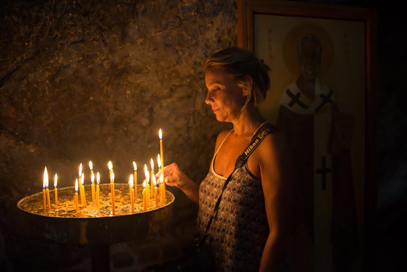 La candela della speranza di sarre 49