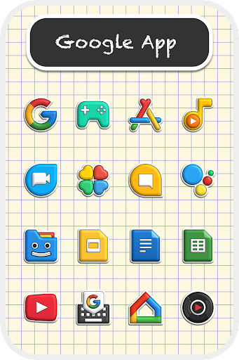 Poppin icon pack 1.7.5 screenshots 1