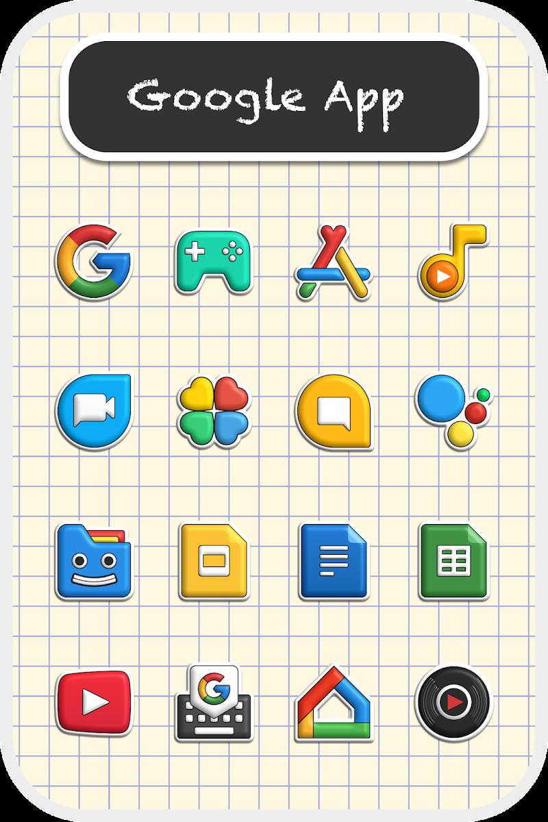 Poppin icon pack Screenshot 0