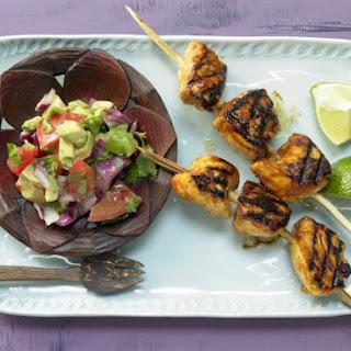 Tamarind Chicken Skewers