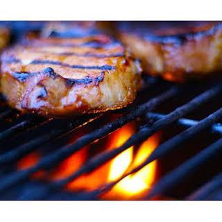 Grilled Marinated Pork Chops.