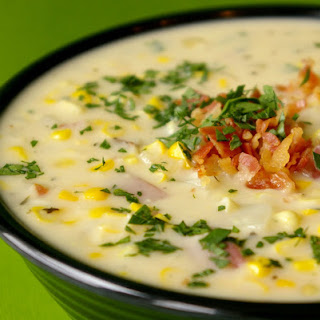 Delicious Corn Chowder Soup