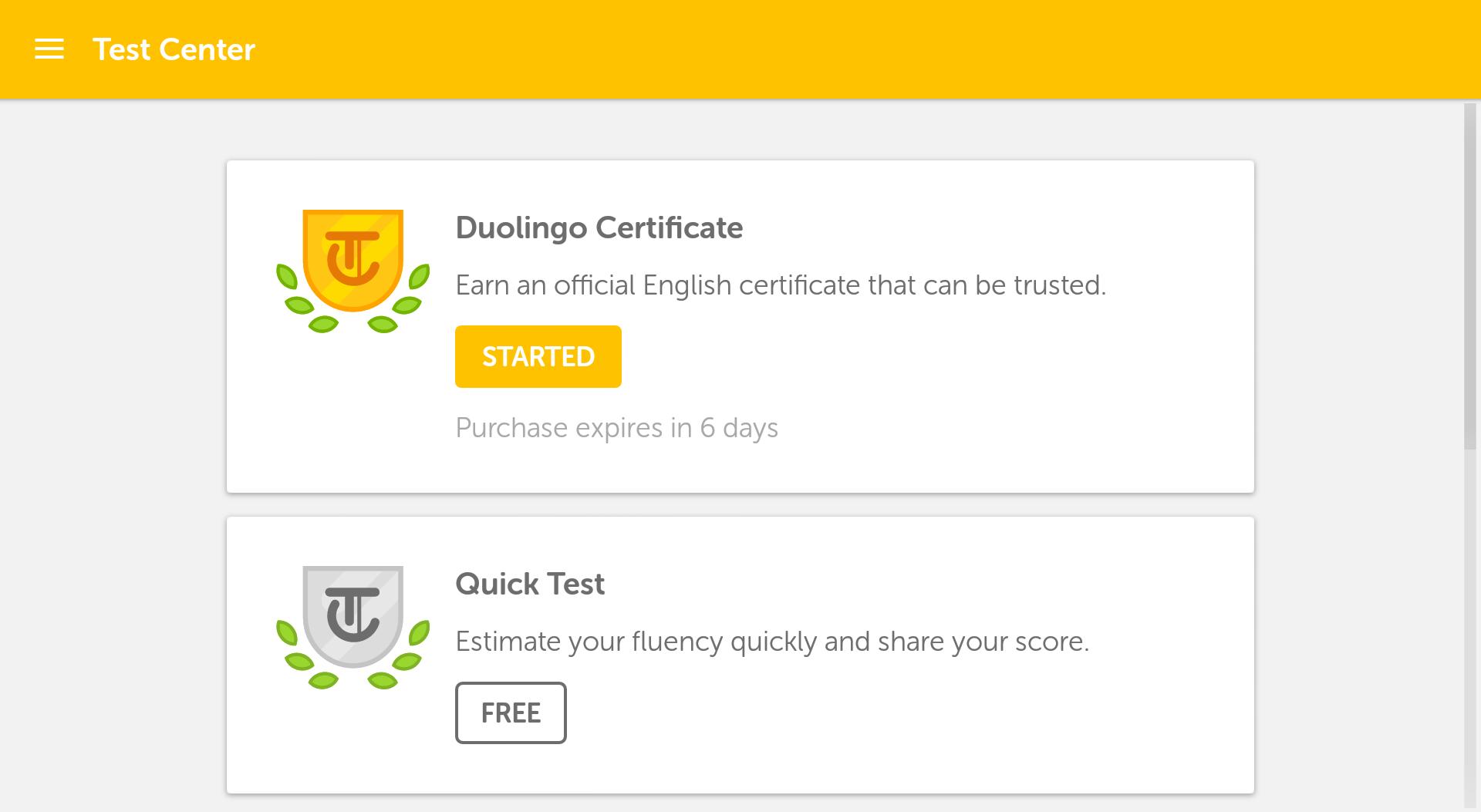 Duolingo English Test screenshot #11