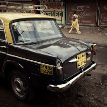 Photo: Bombay's finest old taxis usually make for some interesting photographs, which is a much better experience than being inside one ... Mumbai, India www.michiel-delange.com #streetphotography  #streetphotographers