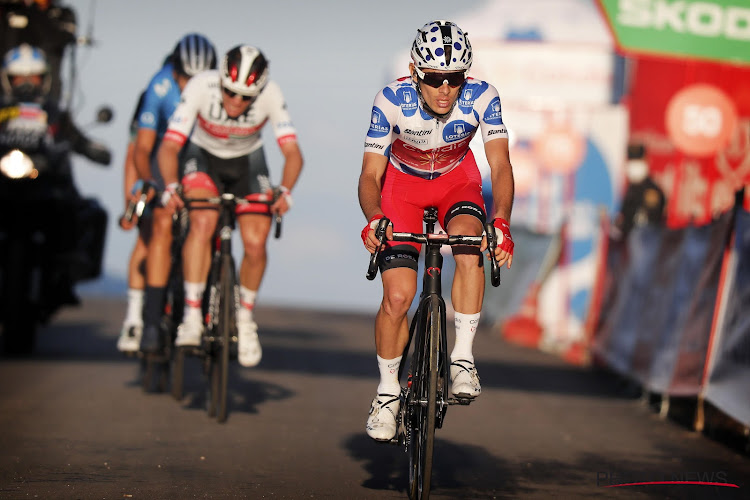 """Bergkoning in de Vuelta heeft indruk gemaakt: """"Hopelijk kan ik in de toekomst nog eens op het podium van een grote ronde"""""""