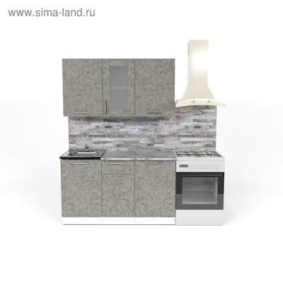 Кухонный гарнитур Валерия медиум 1 1400 мм