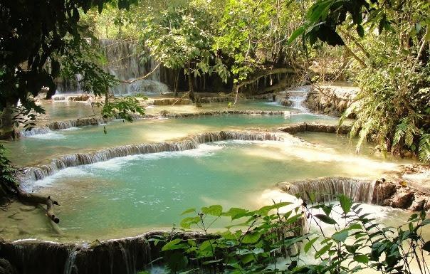 Cascatas de Kuang Si