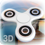 White Realistic Spinner At Pier Icon