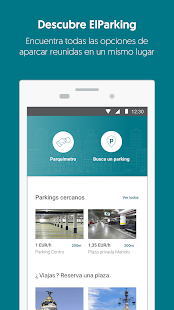 ElParking - App para aparcar - náhled