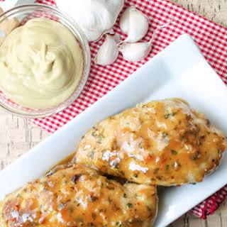 Garlic Maple Dijon Chicken – Gluten Free.