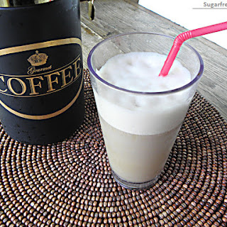 Low-Calorie Iced Coffee Vanilla Frappe [Dairy Free].