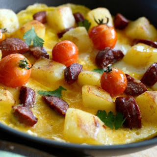 Spanish Omelette With Cheese Recipes.