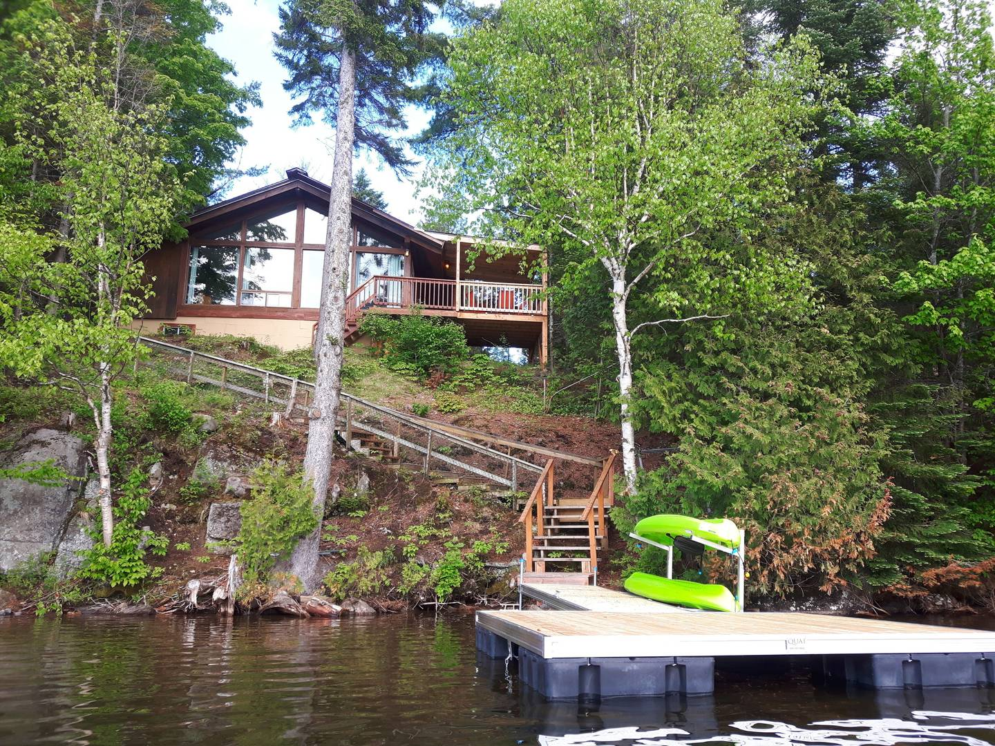 Waterfront cottages for rent in Laurentians #4