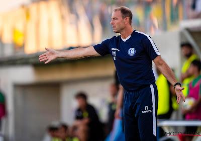 """Thorup a dû faire sans ses attaquants titulaires contre Mouscron : """"Mais ils seront rétablis pour Larnaca"""""""