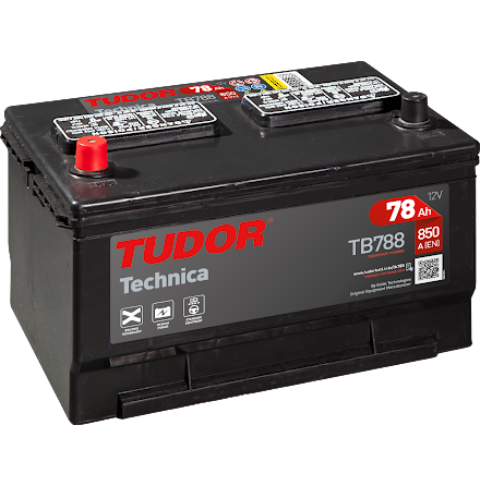 Startbatteri Tudor 12V/78Ah