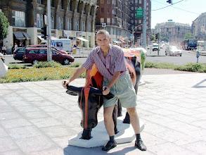 Photo: Cowparade - Budapest - Deák tér