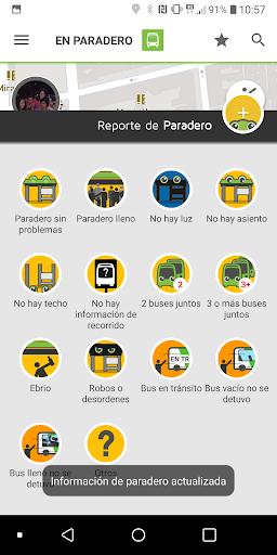 TranSapp: Metro y buses de transantiago screenshots 2