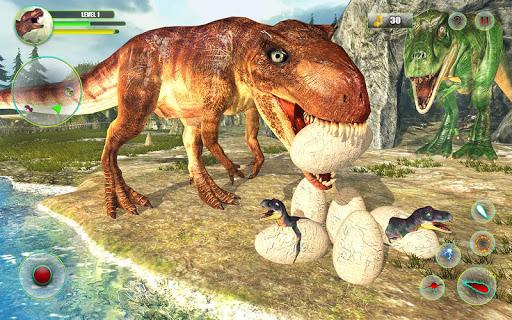 Dinosaur Games Simulator Dino Attack 3D  captures d'écran 2