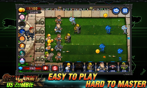 Army vs Zombies : Tower Defense Game Apk 2