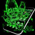 Weed Smoke Skull Theme icon