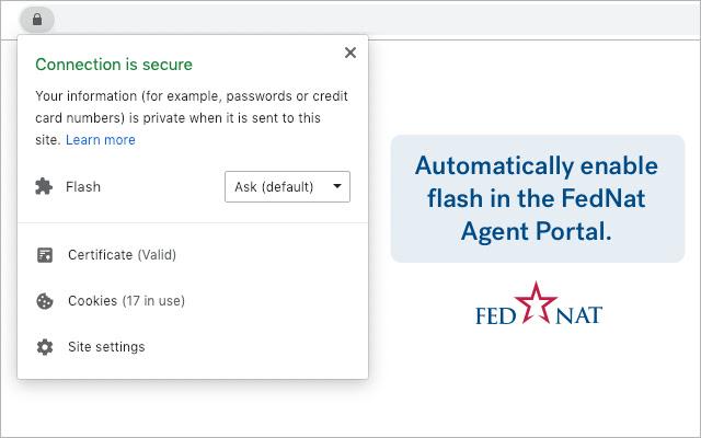 Fednat Flash Enabler