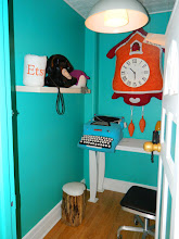 """Photo: Inside a """"phone booth"""" at Etsy"""