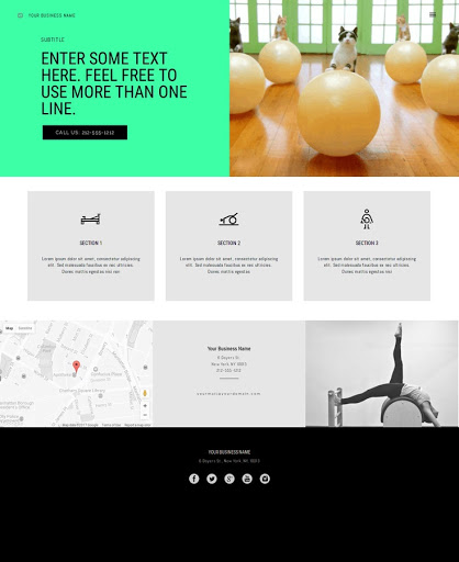 Build a Pilates Website