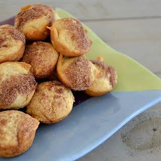 Mini Applesauce Muffins.