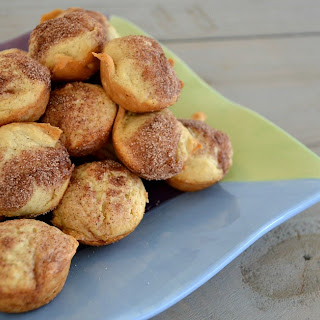 Mini Applesauce Muffins.