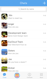 EzyCloud - náhled