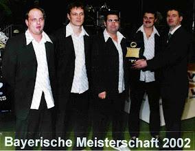 Photo: 2002: 4. Bayerischer Meister Mannschaft unverbaut