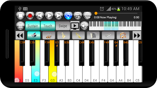 Strings and Piano Keyboard 2.3